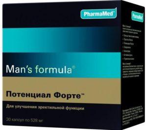 Мужской комплекс витаминов Потенциал Форте