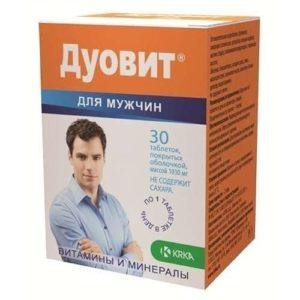 Мужской комплекс витаминов Дуовит