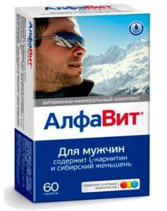 Мужской комплекс витаминов Алфавит
